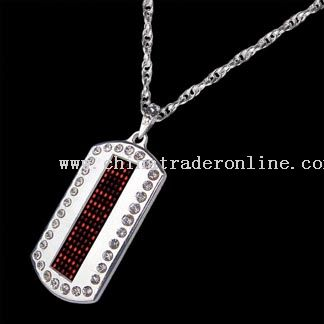 LED Pendant (Scrolling Display)