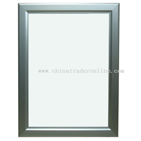 Extremethin light box - unfoldable frame