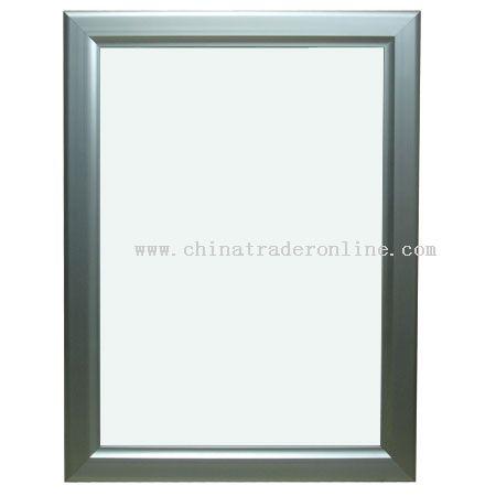 Extremethin light box - unfoldable frame