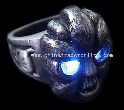 Flash Alloy Finger Ring