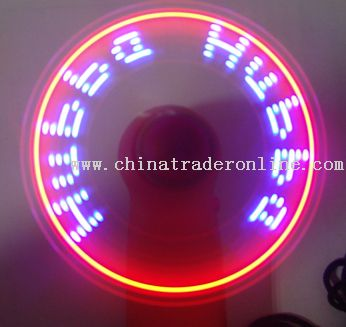 LED Colorful LOGO Fan