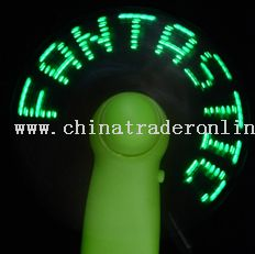 LED Logo Fan-Green LED