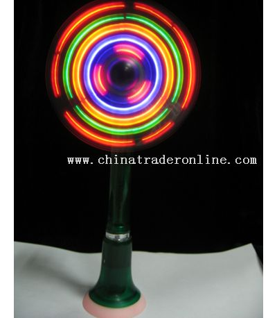 Stand-Up LED Mini Fan with Pen