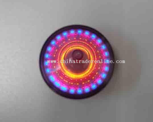 Flashing spinner