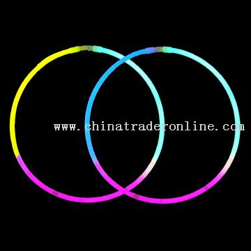 3-Color Glowstick Necklace