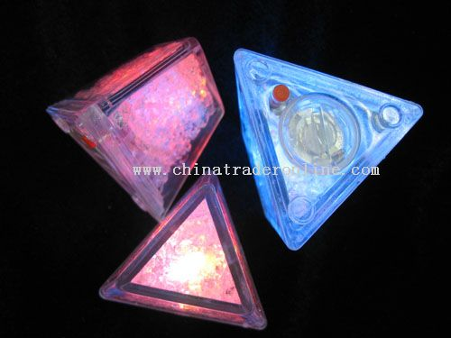 triangle light up ice cube from China