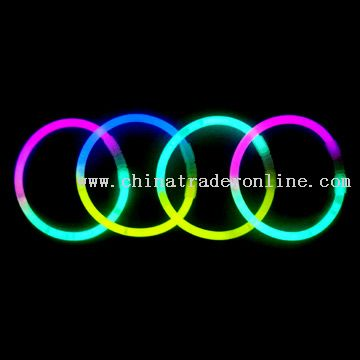 2-Color Glowstick Bracelets