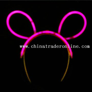 Glow Bunny Ear Decoration