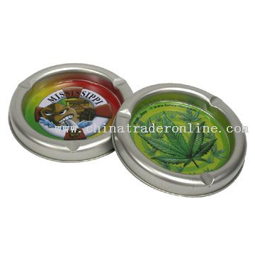 Tinplate Ashtrays