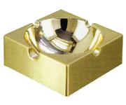 Zinc alloy ashtray from China