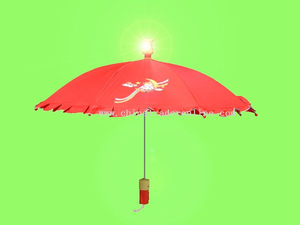 Toy Umbrella With Music And Light