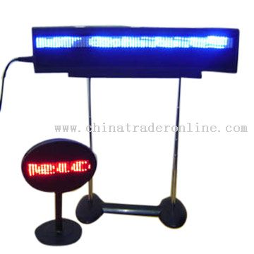 22cm LED Scroll Display / Sign / Message