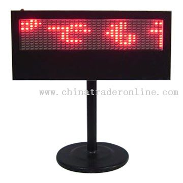 All Country Character LED Display