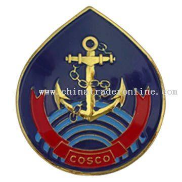 Badge from China