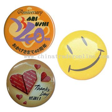 Badges, Pins & Buttons