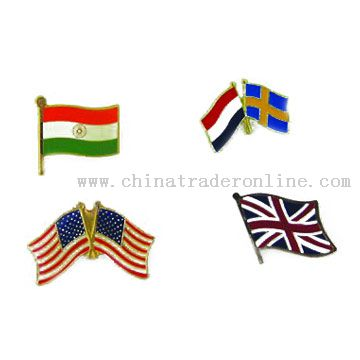 Flag Pins from China