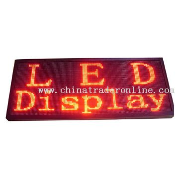 Indoor LED Display Screen from China
