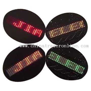 Mini Led Sign / Badge / Message