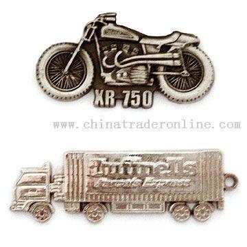 Motor sharp Badges