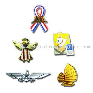 Pins, Badges