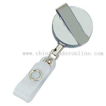 Retractable Badge Clip