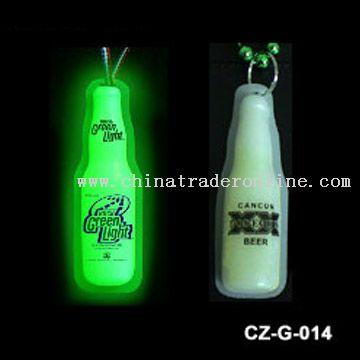 Small Glow Bottle Badge