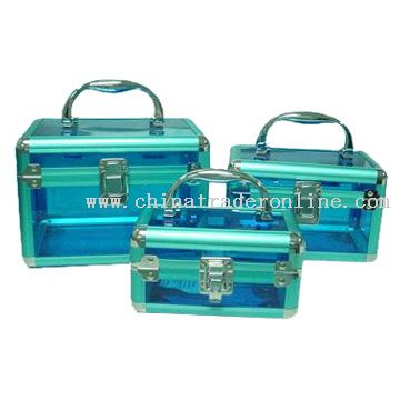 3-In-1 Cosmetic Case Set