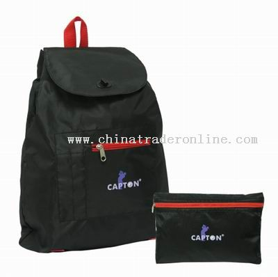 Foldable backpack from China