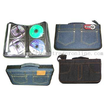 Jean Cloth CD Wallets