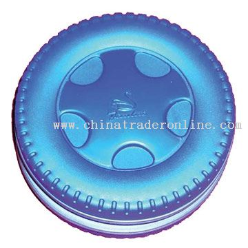 Plastic Shell Tire Shaped CD Holder from China