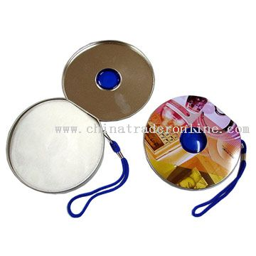 Tin Plate Full Round CD Holder