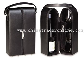 Synthetic Wine Tote which could hold up to 2 bottles of wine