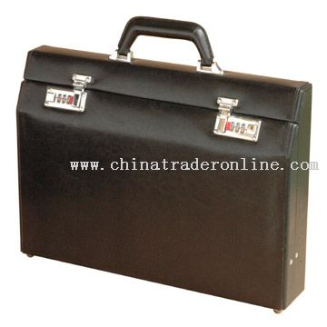 Inclined Surface Single Layer Briefcase from China