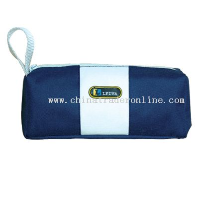 Blue Pencil Bag