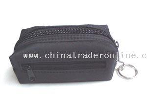 Black Fabric Wallet