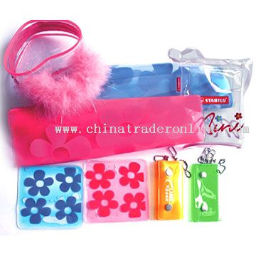 Coin Purses And Soft PVC Bags
