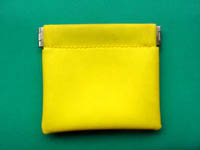 Fabric coin purse with different colors from China
