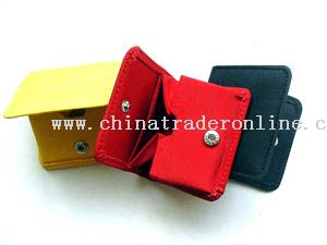Micro fiber coin purse in different colors