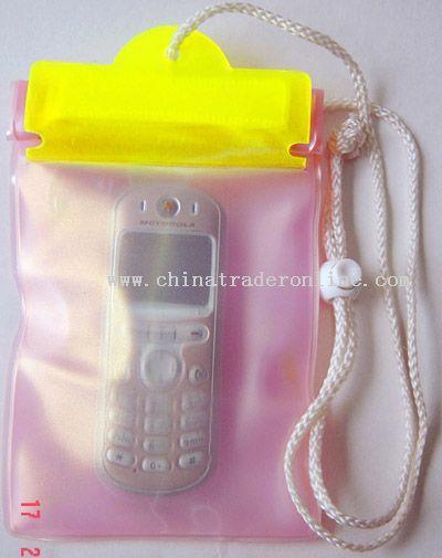 Pvc. Pu Water Proof Bag For Mobile Phone