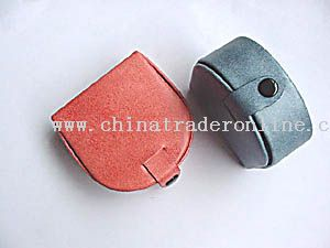 Shaped synthetic material coin purse