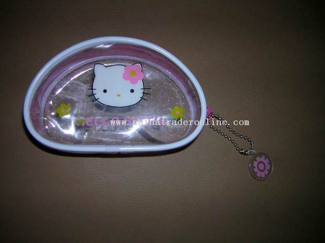 Transparent Coin Purse for children.
