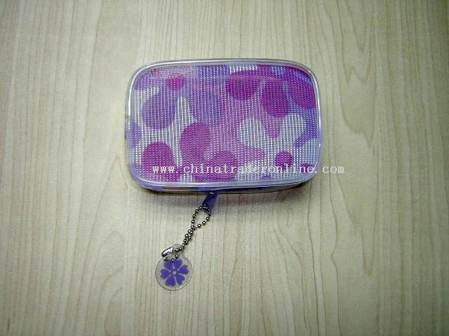 Transparent coin purse for children