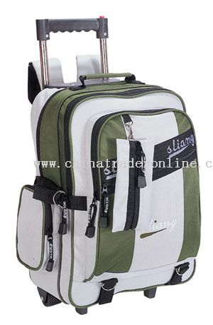 600*300D/PVC WHEELED SCHOOL BAG