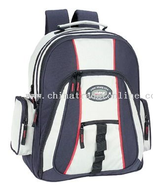 Oxford/PVC School Bag from China