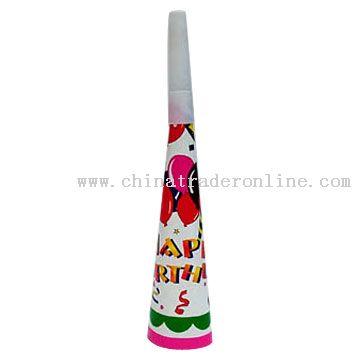 Birthday Paper Horn