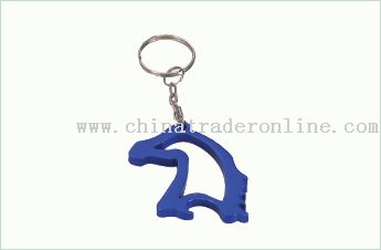 Animal Shape Bottle Opener Keychain
