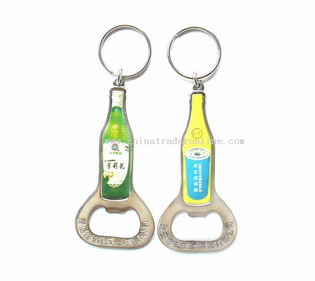 wholesale bottle shape bottle opener with keyring buy discount bottle shape bottle opener with. Black Bedroom Furniture Sets. Home Design Ideas