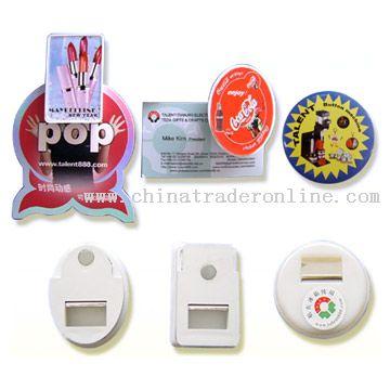 magnetic bottle opener with clip - Magnetic Bottle Opener