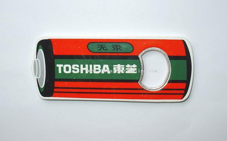 Battery Shape Bottle Opener from China