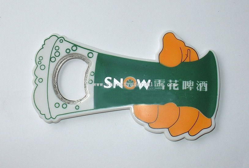 PVC Bottle Opener from China